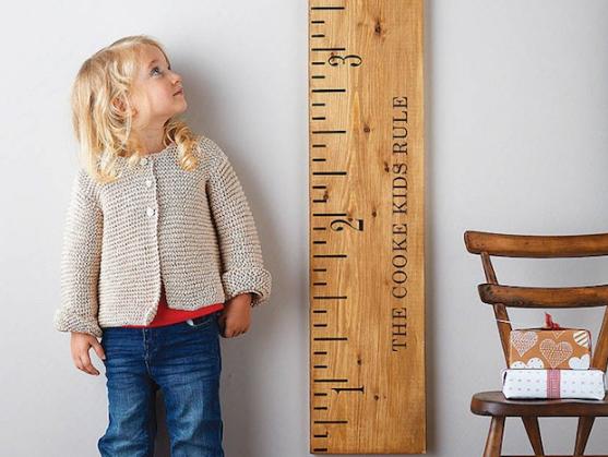 子供の成長と身長