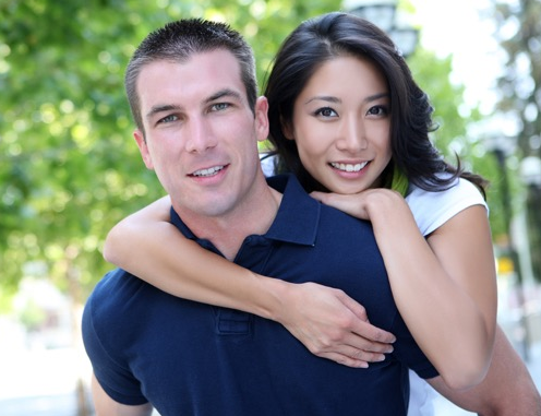 国際結婚をして海外で働く女性
