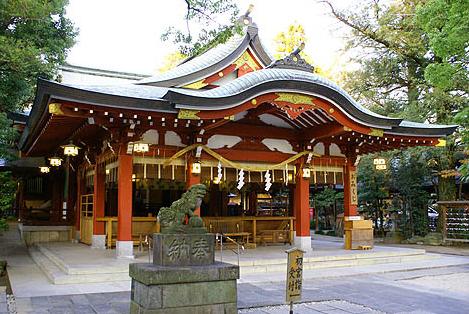 埼玉県の恋愛パワースポット「久伊豆神社」