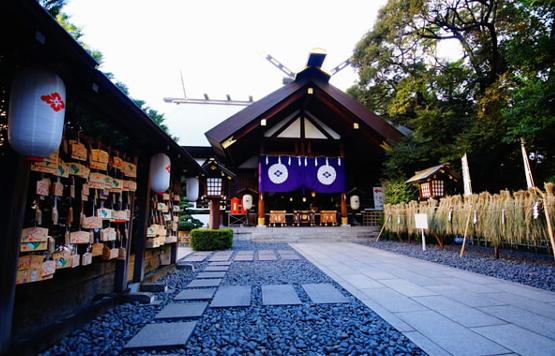 東京で縁結びの効果がある「東京大神宮」