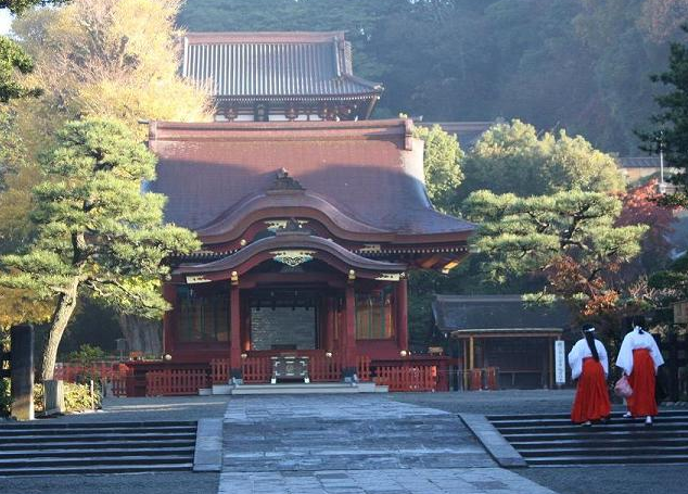 鎌倉にある恋愛パワースポット「鶴岡八幡宮」