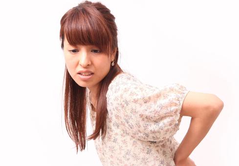 女性のぎっくり腰の前兆は?