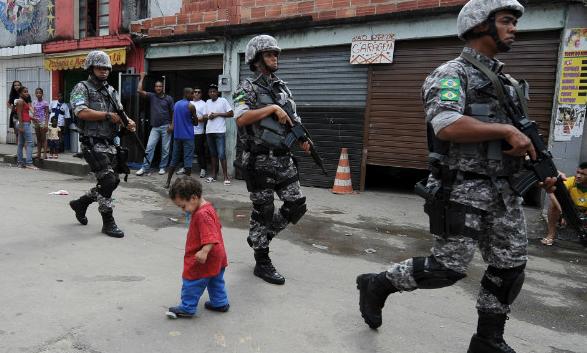 ブラジル政府は治安を強化している
