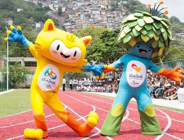 リオオリンピックのマスコットキャラクター